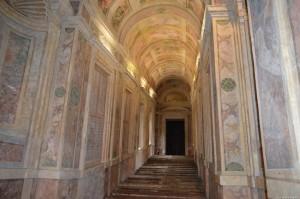 Mantova, Castello di San Giorgio, scalinata
