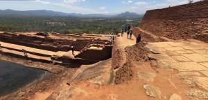 Sulla Rocca del Leone di Sigiriya