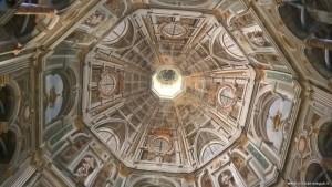 Sabbioneta, Chiesa dell'Incoronata, interno cupola