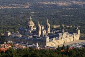 Vista aerea del Monastero dell'Escorial (fonte foto Wikipedia)
