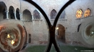 Fontanellato, Rocca Sanvitale, vista sul cortile interno