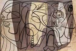 Il pittore e la modella, Pablo Picasso