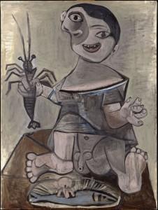 Giovane ragazzo con l'aragosta, Pablo Picasso