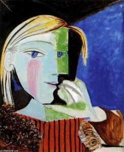 Ritratto di Marie-Thérèse, Pablo Picasso