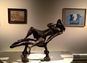 Scultura in bronzo di Luciano Minguzzi