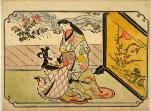 Moronobu Hishikawa, arte giapponese