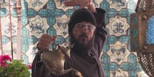 Non c'è più religione, scena del film con Alessandro Gassman