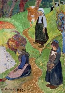 Paul Gauguin, Bretagna, 1889, Manchester, The Whitworth University of Manchester