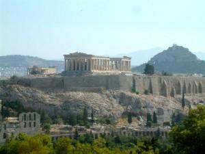 L'Acropoli di Atene con il Partenone