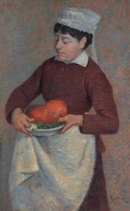 La cuoca, 1881, Federico Zandomeneghi