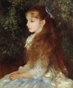 Mademoiselle Irène Cahen d'Anvers (1880) di Pierre-Auguste Renoir