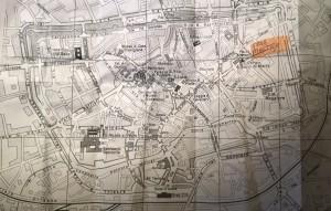 Treviso, mappa centro storico e sede mostra