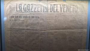 Vittorio Veneto, Museo della Battaglia, testimonianza storica