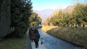 Vittorio Veneto, località Serravalle, lungo la riviera del Meschio