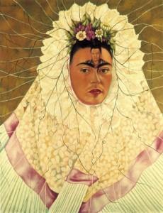 Autoritratto come a Tehuana, 1943, Frida Kahlo