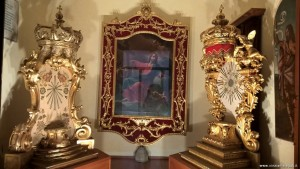 Bologna, Chiesa dei Celestini, immagine devozionale di San Giovanni Battista