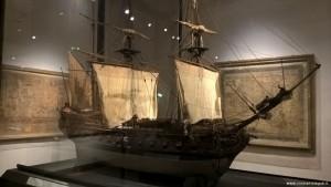 Bologna, Museo di Palazzo Poggi, mappe di navigazione e modelli nave