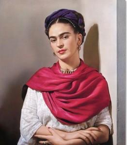 Frida Kahlo, 1940, foto di Nickolas Muray