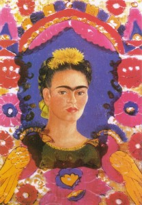La cornice, autoritratto del 1938, Frida Kahlo