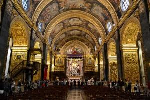 Malta, La Valletta, Concattedrale, interno (fonte wikipedia)