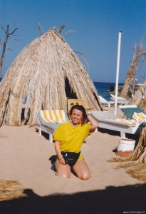 Hurghada, scorcio della spiaggia