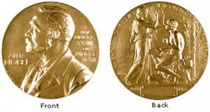 Premio Nobel, fronte e retro