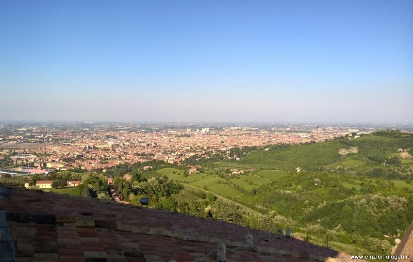 Bologna Veduta Sulla Città Dal Santuario San Luca Terrazza