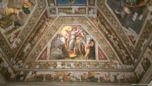 Ferrara, Castello Estense, affresco Sala dell'Aurora