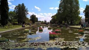 Giardini acquatici al Parco Sigurtà