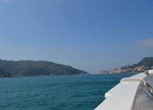 Golfo dei Poeti, navigazione verso Portovenere