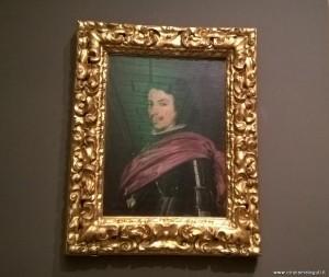 Modena, Galleria Estense, ritratto di Francesco I d'Este di Diego Velazquez