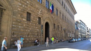 Firenze, Palazzo Medici Riccardi, facciata su via Cavour