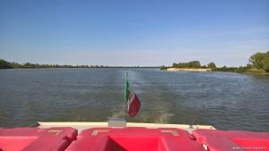 Parco del Delta del Po, in navigazione