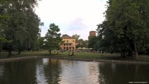 San Marino di Bentivoglio, Villa Smeraldi, il Parco
