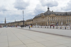 Bordeaux, palazzi lungo il fiume Garonna