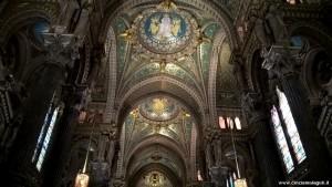 Lione, Basilica Notre Dame de Fourviere, interno