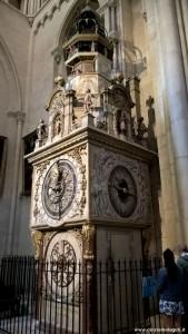 Lione, Cattedrale di St Jean, orologio astronomico