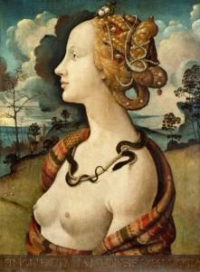 Bella Simonetta, Piero di Cosimo, Museo Chantilly