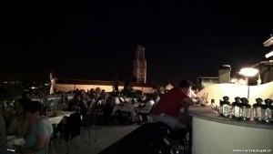 Firenze, cena sulla terrazza panoramica di Palazzo Gaddi