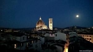 Firenze by night dalla terrazza panoramica di Palazzo Gaddi