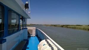 Navigazione nel Delta del Po rami meridionali