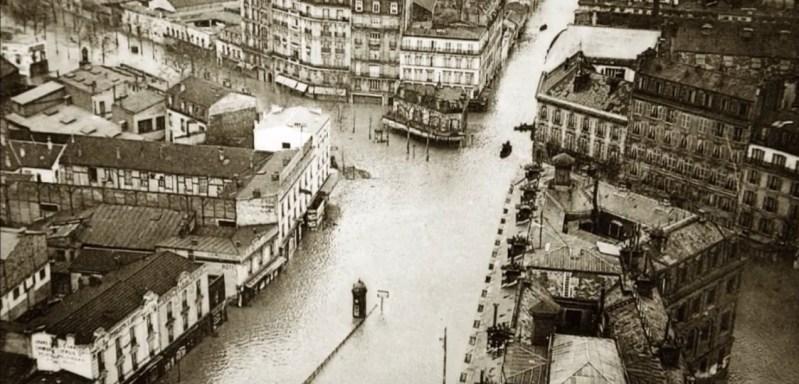 senna parigi storica alluvione