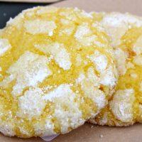 Biscotti al limone morbidi e irresistibili
