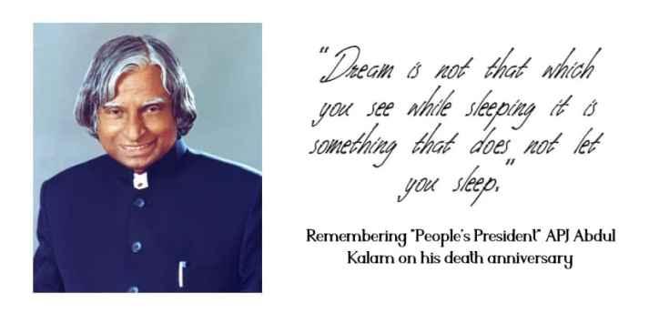 "India 2020: Remembering ""People's President"" Dr APJ Abdul Kalam on his  death anniversary - CIOL"
