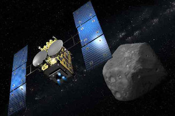 Hayabusa- 2 Japanese mission to asteroid 162173 Ryugu
