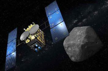 Hayabusa- 2 Japanese mission to asteroid 162173 Ryugu