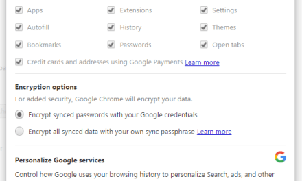 How to back up entire Google Chrome Settings
