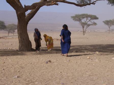 incontro nel deserto