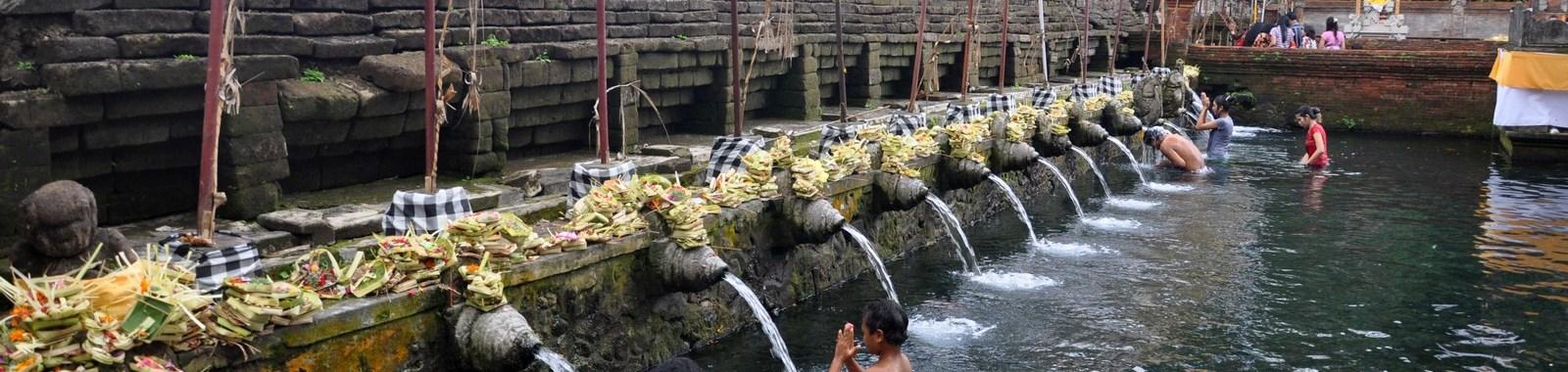 Tirta Empul, il tempio delle sorgenti sacre di Bali
