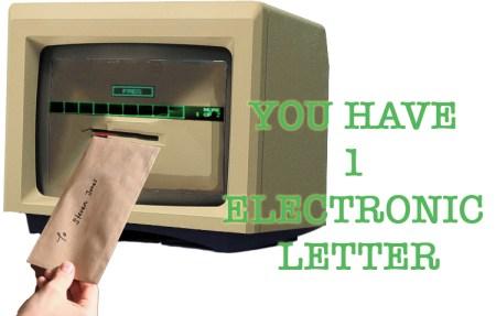 Dispositivo creato fuori dal pianeta terra, trasforma la posta elettronica in busta cartacea.